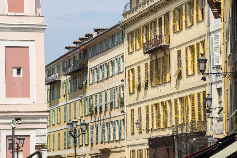 Nice (Kooi d'Azur) stock afbeeldingen