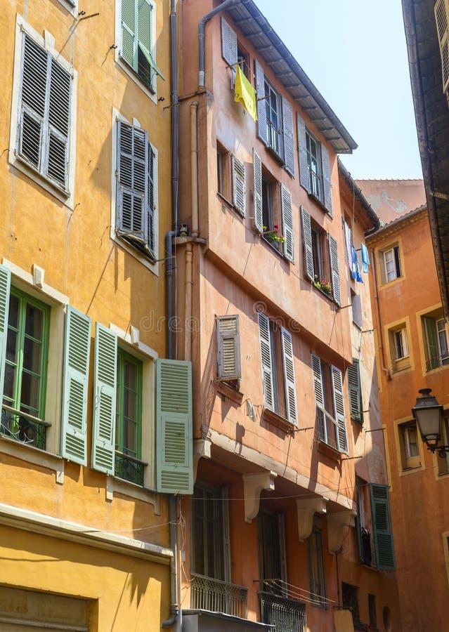 Nice (Kooi d'Azur) royalty-vrije stock afbeeldingen