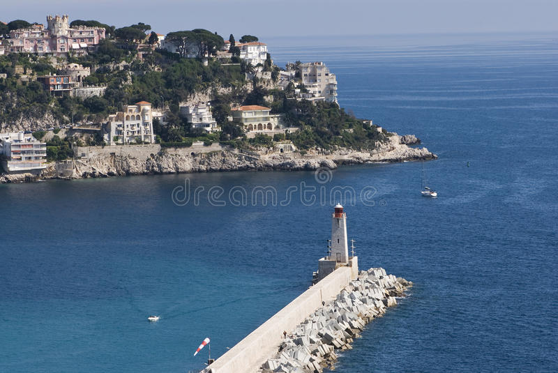 Download Nice lighthouse stock image. Image of coast, apartment - 15994879