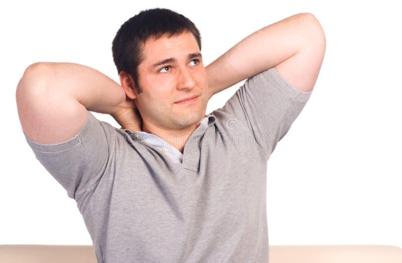 Download Nice man portrait stock image. Image of positive, health - 21047987