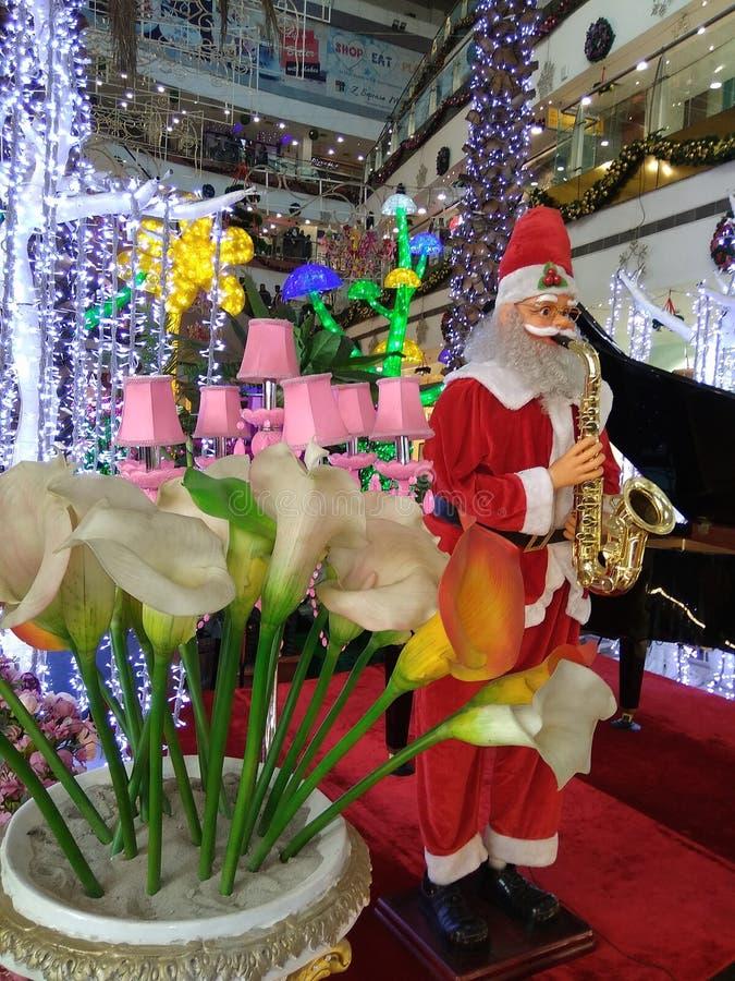 Nice many part of Santa Claus stock photo