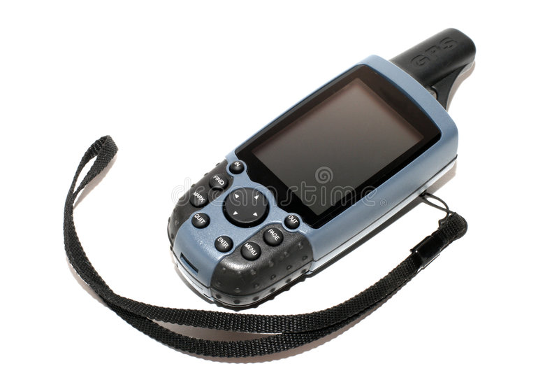 The nice Mobile GPS receiver royalty free stock photos