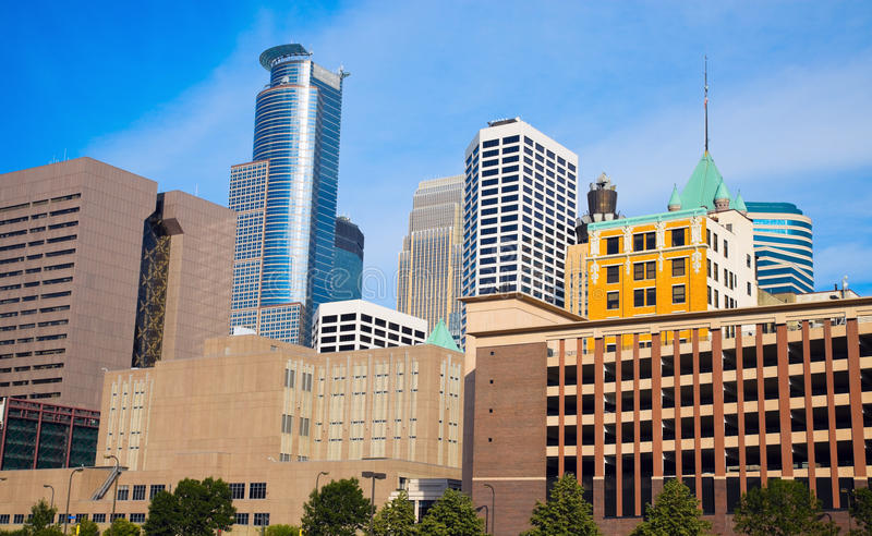 Download Nice Morning In Minneapolis Royalty Free Stock Photo - Image: 25714165