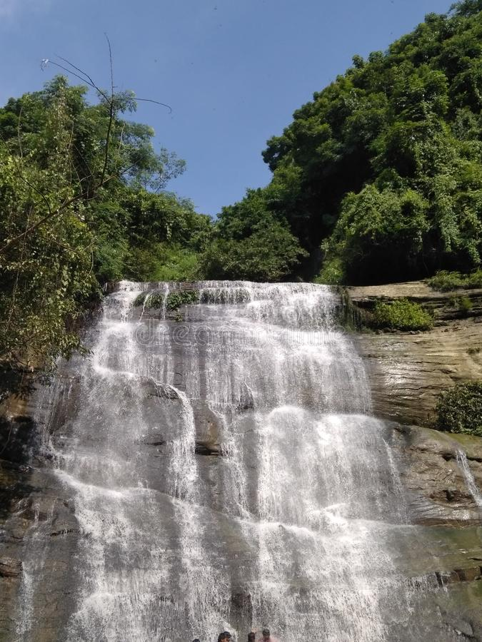 Nice Waterfall royalty free stock image
