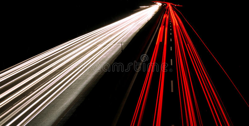 Download Nice Night shot of highway stock image. Image of sign - 10402743