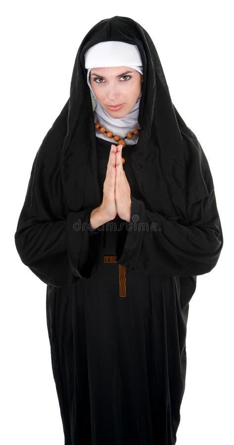 Nice Nun Royalty Free Stock Photography