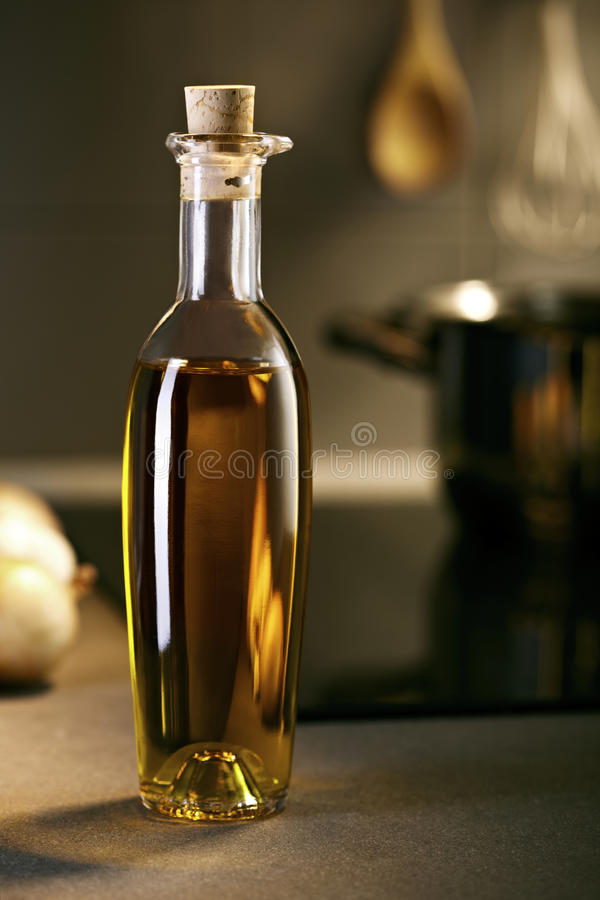 Download Nice Oil Bottle In A Kitchen Stock Image - Image: 23211491