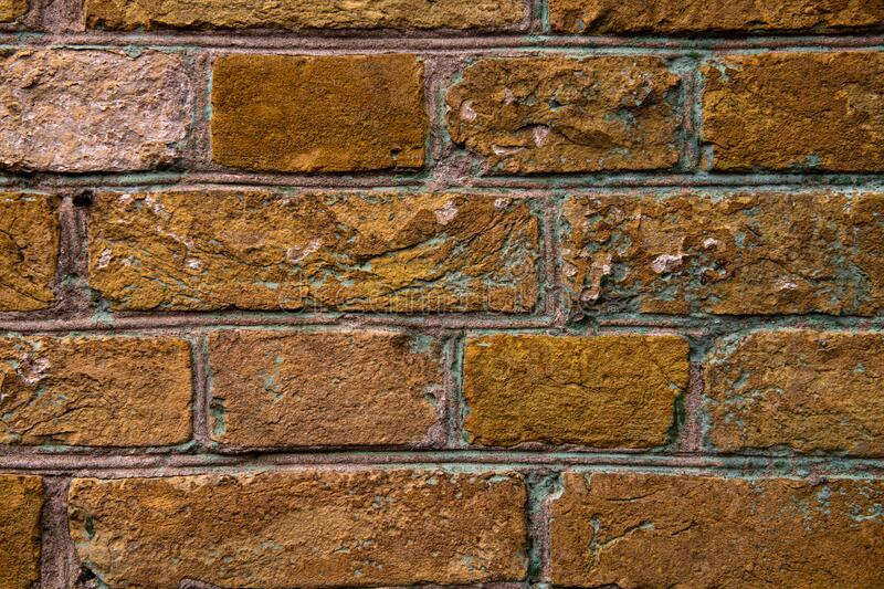 Nice old brick wall texture background abstract. Design brown royalty free stock images