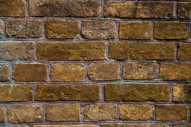 Nice old brick wall texture background abstract. Design brown royalty free stock image