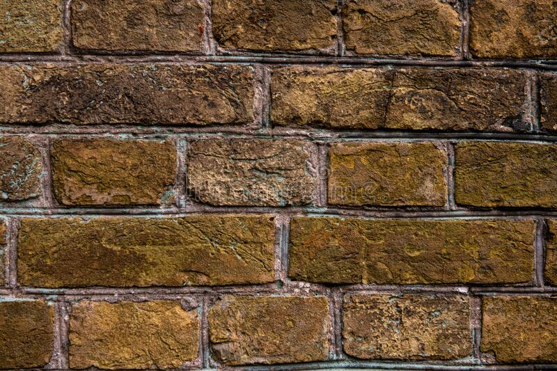 Nice old brick wall texture background abstract. Design brown stock image