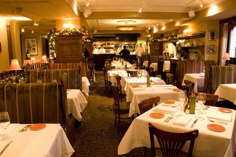Nice old restaurant royalty free stock images