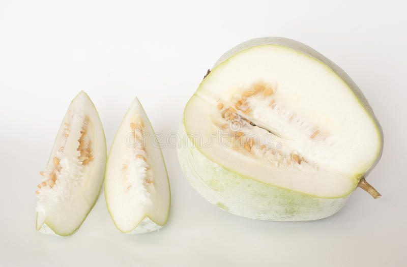 Download Nice organic winter melon stock image. Image of fruit - 80582099