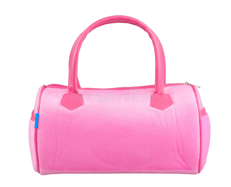 Nice Pink Woman Handbag Royalty Free Stock Photography