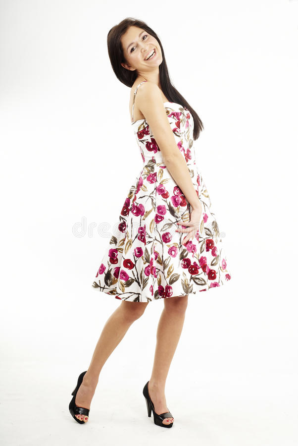 Download Nice Pretty Brunette Girl Laughing Stock Photos - Image: 12992383