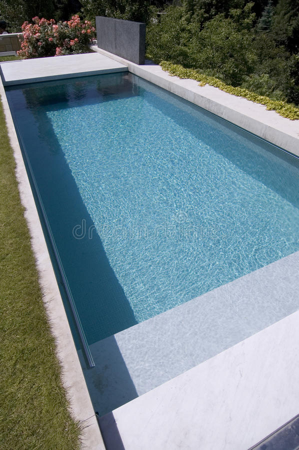Download Nice Private Garden Swimming Pool Stock Images - Image: 23895504