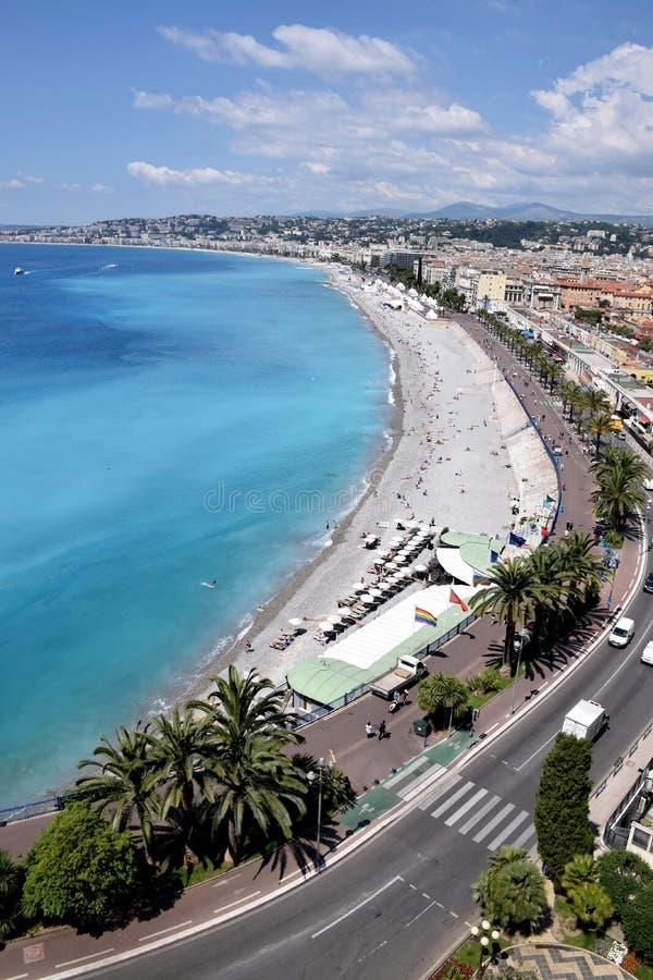 Nice - Promenade des Anglais stock afbeeldingen