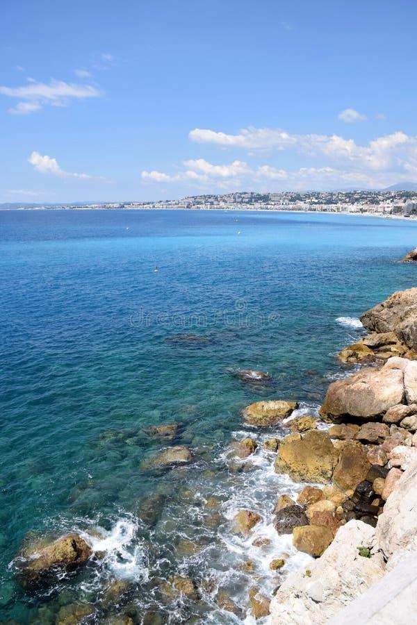 Nice - Promenade des Anglais royalty-vrije stock foto