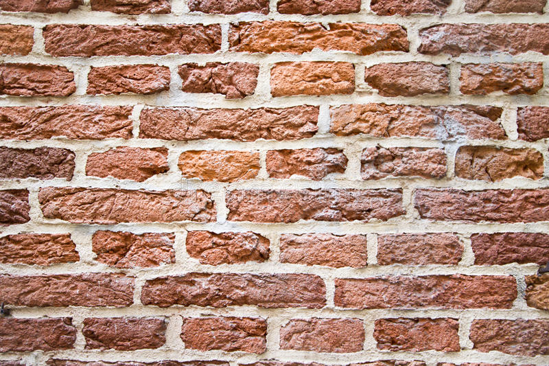 Nice Red Bricks Background Stock Photo. Image Of Block