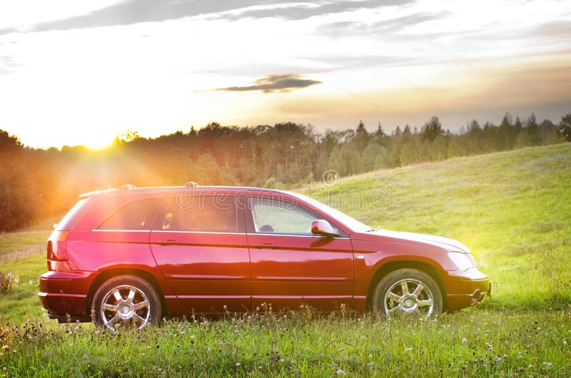 Download Nice Red Car Royalty Free Stock Photo - Image: 26822265