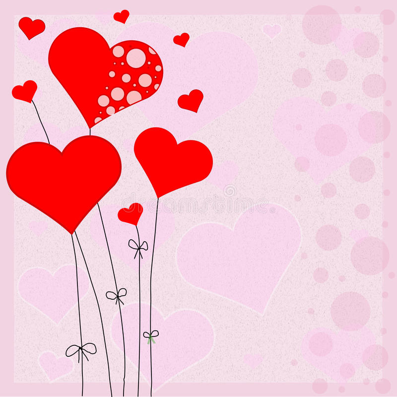 Free Nice Red Hearts For Valentines Day Stock Image - 36731091