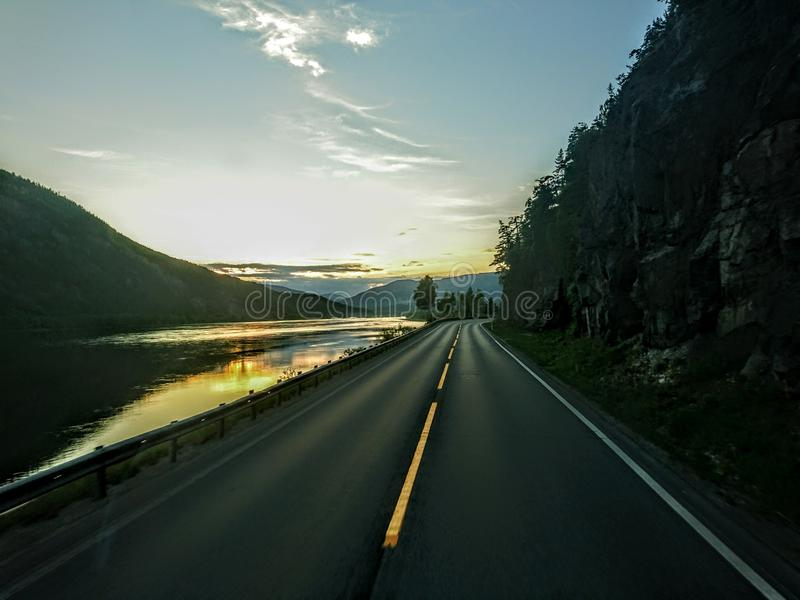 E6 norge royalty free stock images