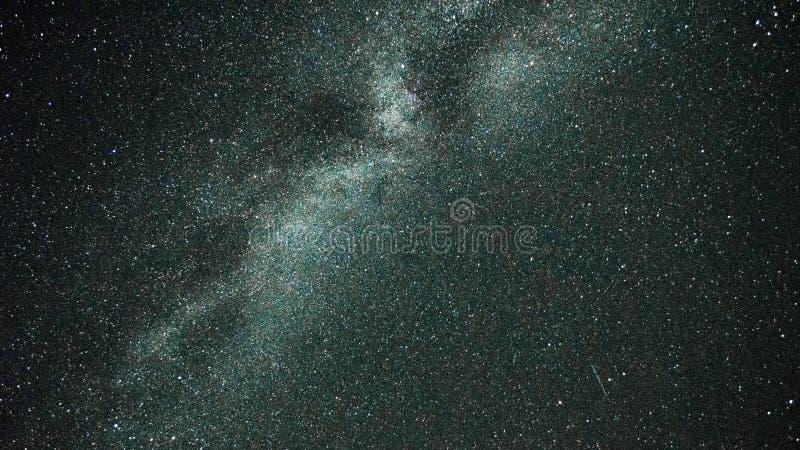 A nice sharp photo of Milky Way royalty free stock photo