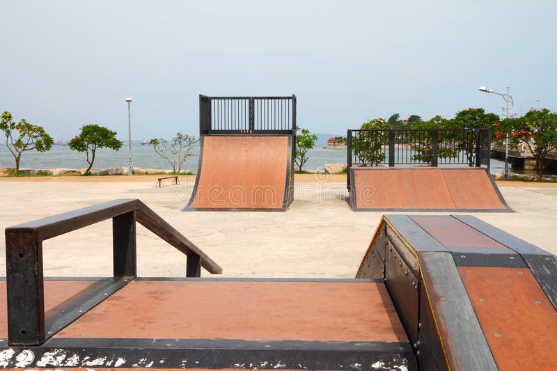 Download Nice Skate And Other Sports Park Stock Image - Image: 24995033