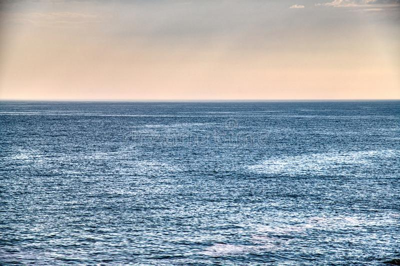 Blue Ocean. royalty free stock photography