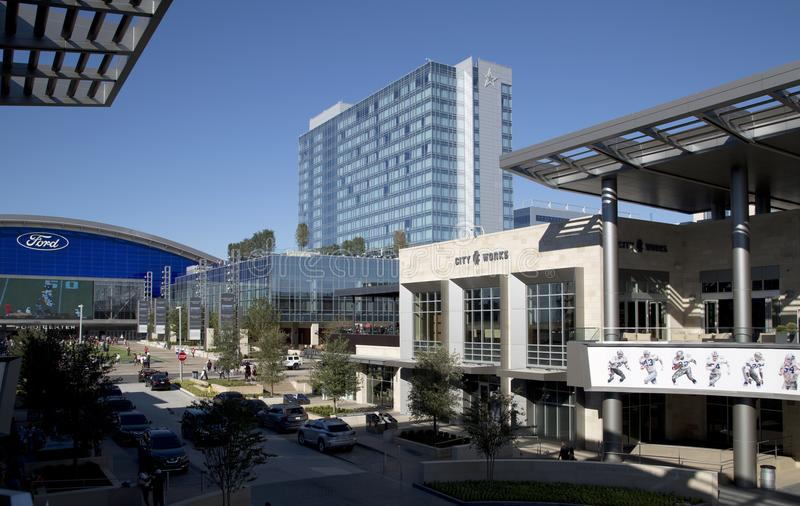 Nice The Star in city Frisco TX USA. Nice the Star in city Frisco, TX USA stock photography