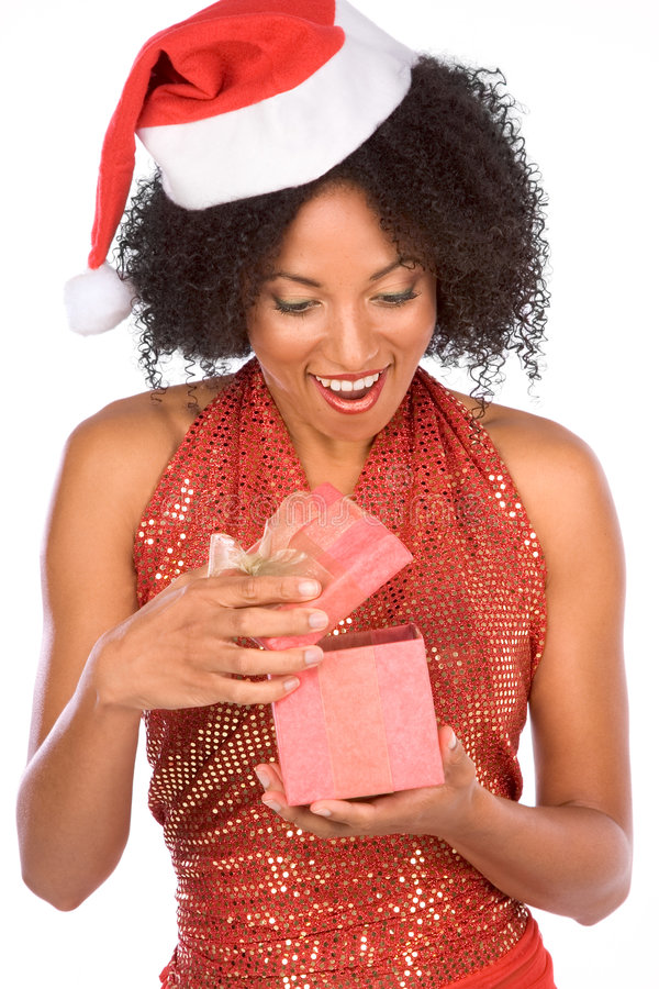 Nice Surprise From Mrs Claus Stock Images