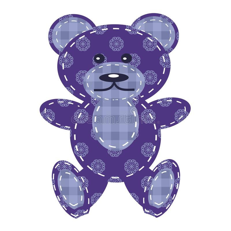Download Nice teddy bear scrapbook stock vector. Illustration of teddy - 26990626