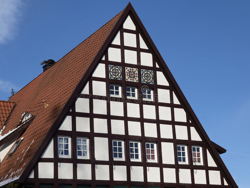 Download Nice Timbered House In Germany Stock Image - Image of land, europe: 23876465