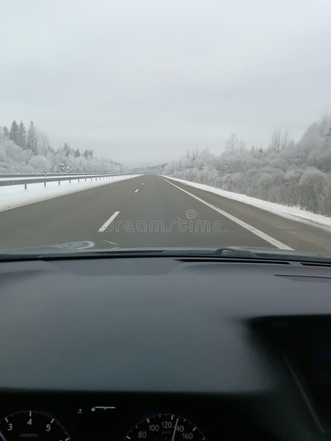 Winter Lithuania stock photos