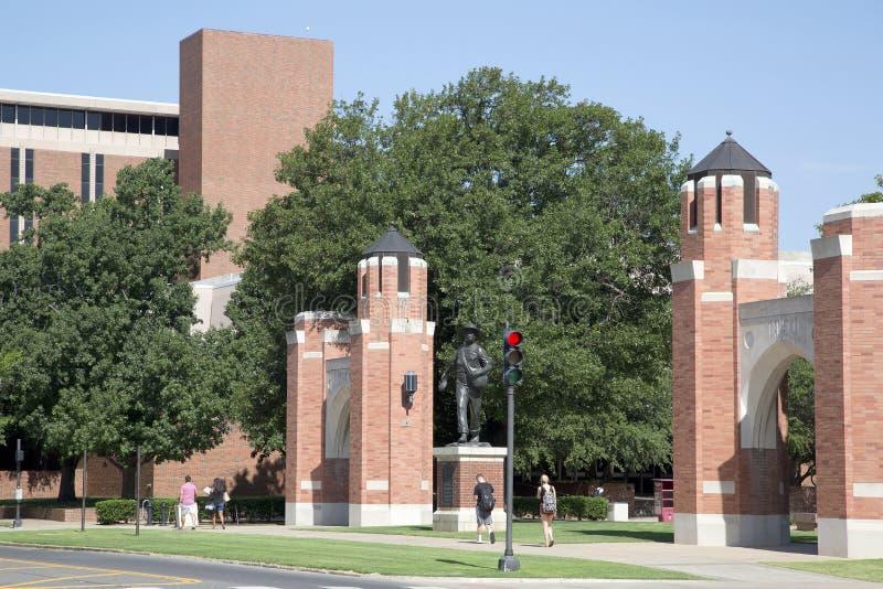 Nice University of Oklahoma campus view USA stock photos