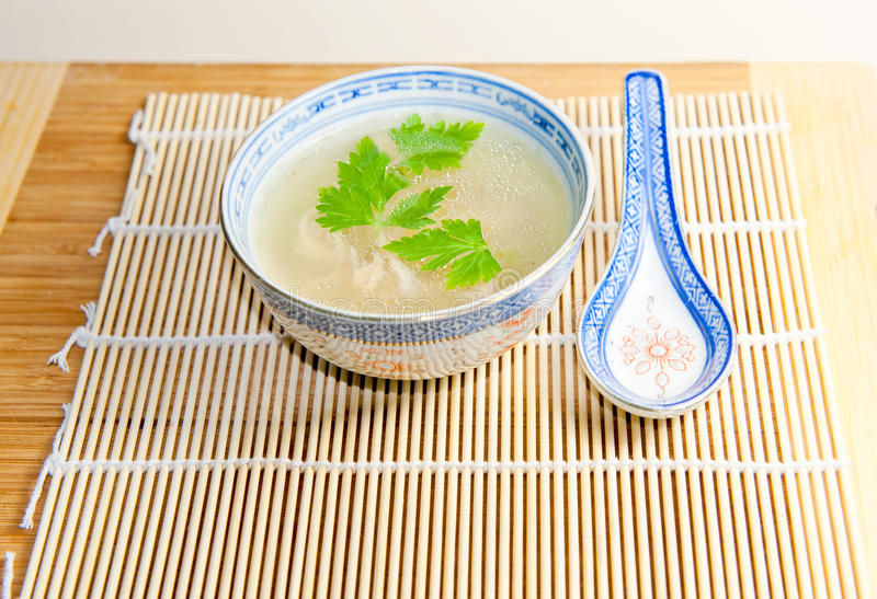 Nice vegetable bouillon stock images
