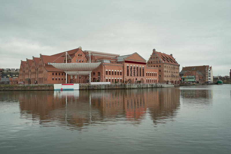 Download Nice View On Philharmonic Buildings In Gdansk. Stock Image - Image: 17039973