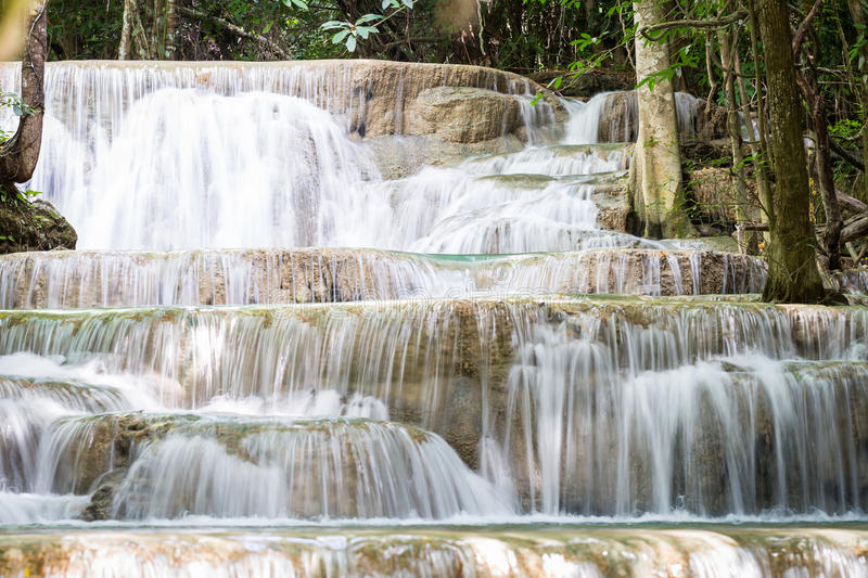 Nice Waterfall In Thailand Stock Image. Image Of