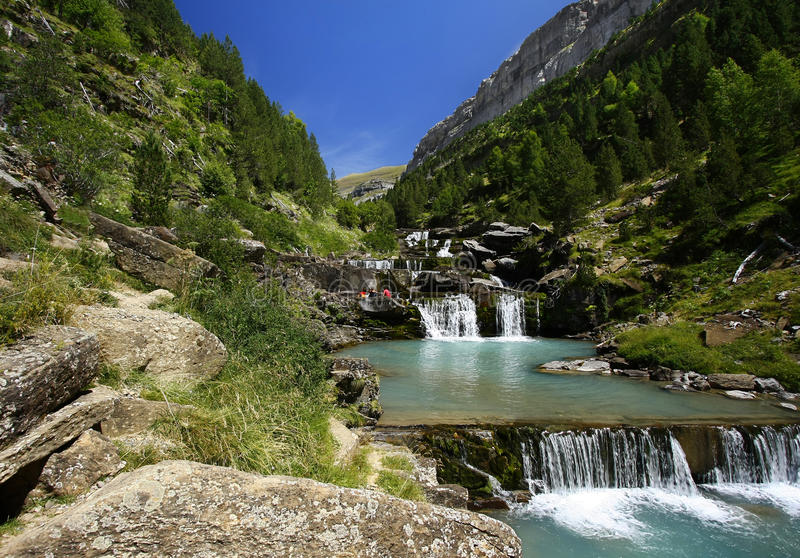 Download Nice waterfalls stock image. Image of background, forest - 20860687