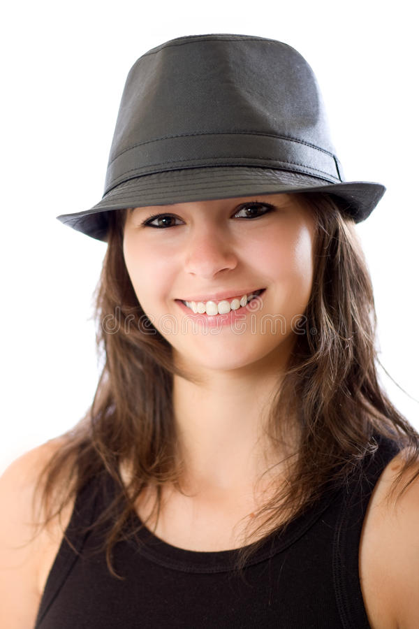 Nice woman portrait stock images