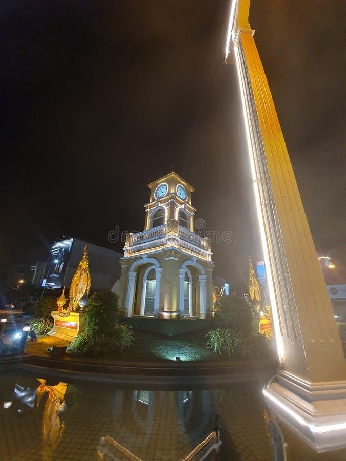 NiceClock в Пхукете Таиланде стоковые фото