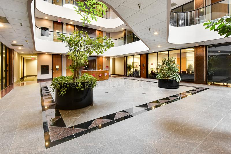 Commercial Building Foyer stock photography