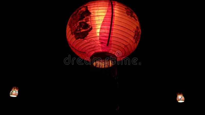 Niceshot di Nightlamp creativo immagine stock