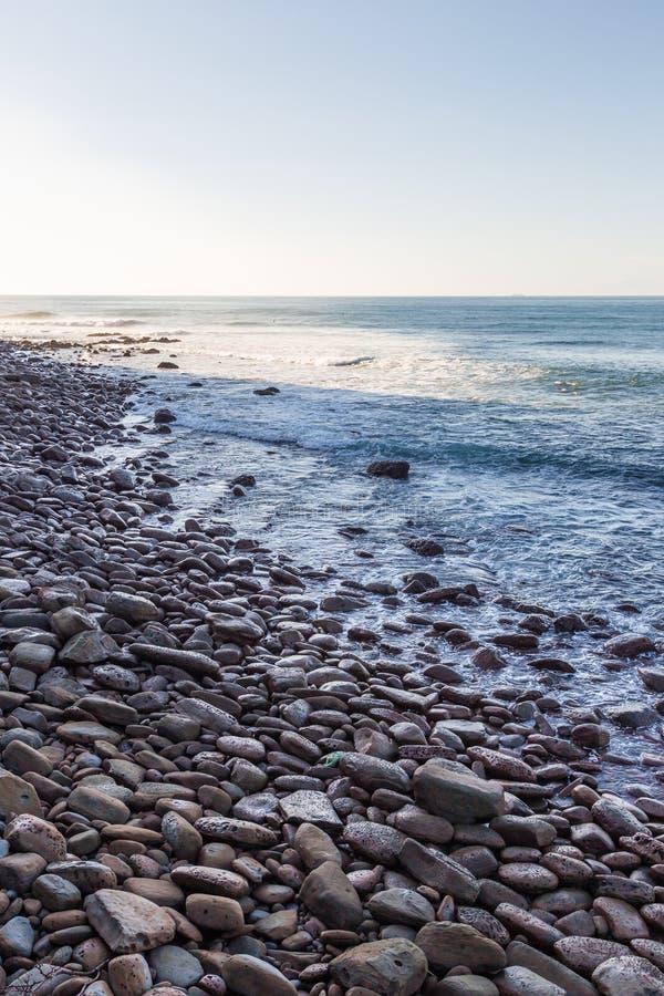 Nichinan-Küstenlinie von Phoenix, Standpunkt in Miyazaki, Kyushu, lizenzfreie stockfotografie