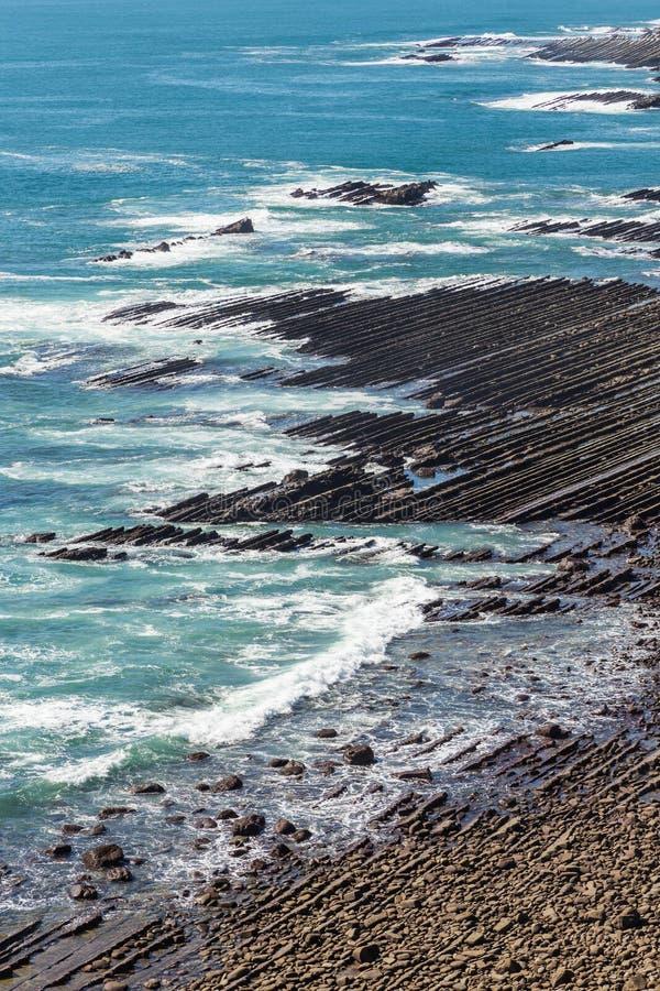 Nichinan-Küstenlinie von Phoenix, Standpunkt in Miyazaki, Kyushu, lizenzfreies stockfoto