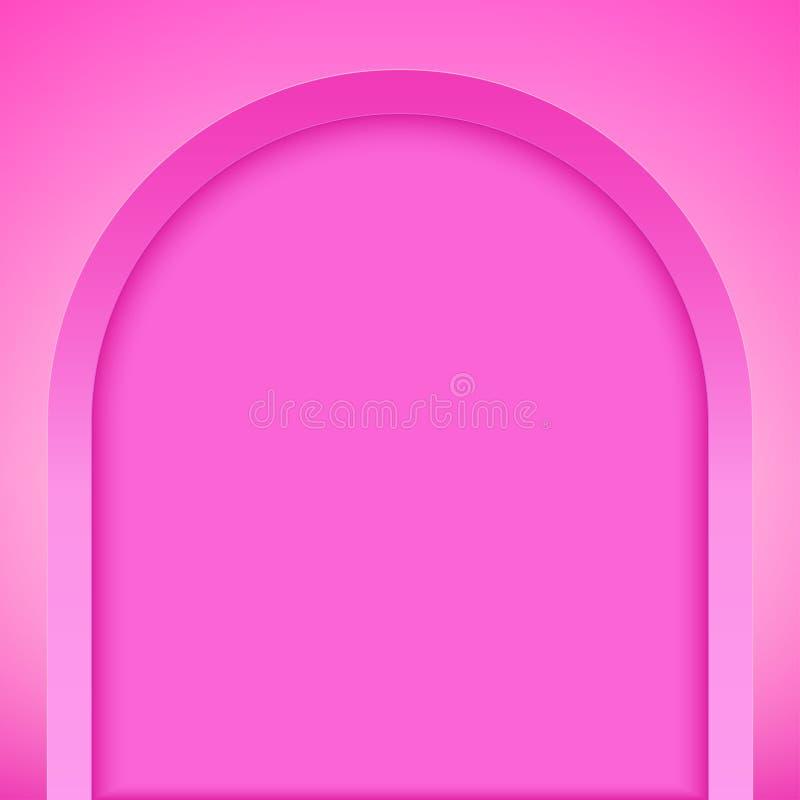 Nicho de arco rosado libre illustration