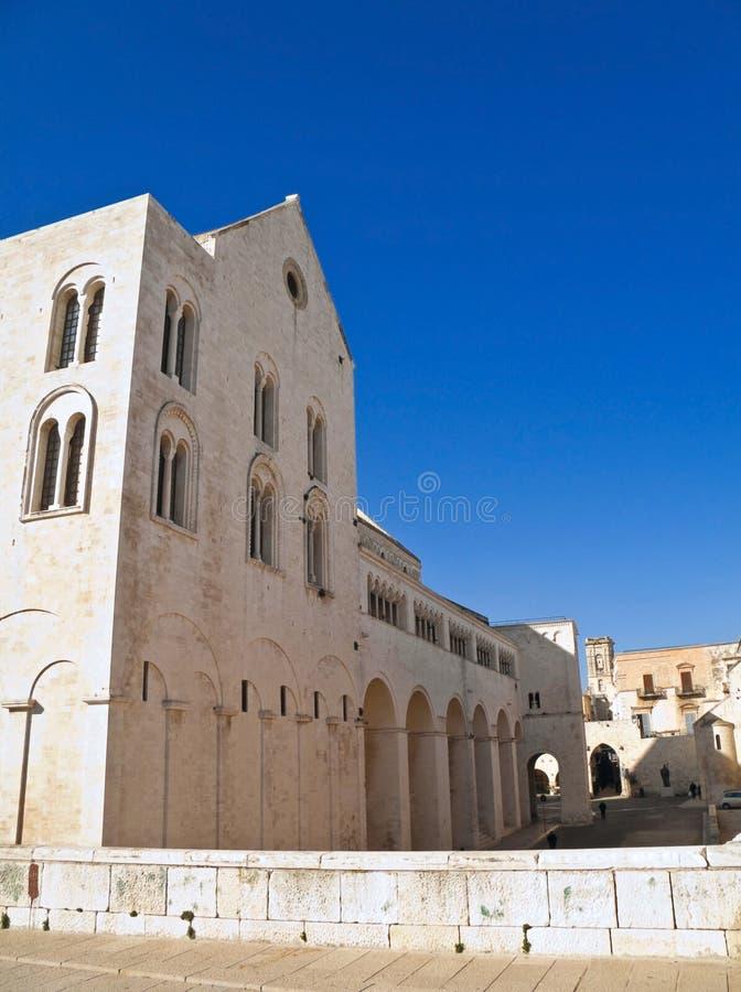 nicholas för apuliabari basilica saint royaltyfri bild