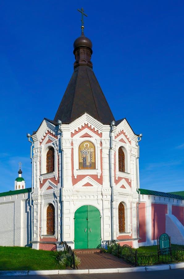 Nicholas Ilinskaya Chapel del monasterio de la transfiguración del salvador, M imagen de archivo libre de regalías