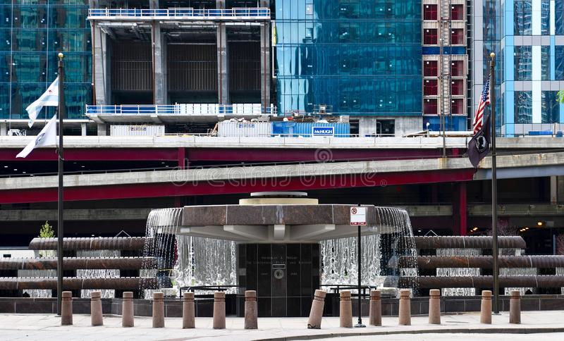 Nicholas J Plaza et fontaine centennales #1 de Melas photos stock