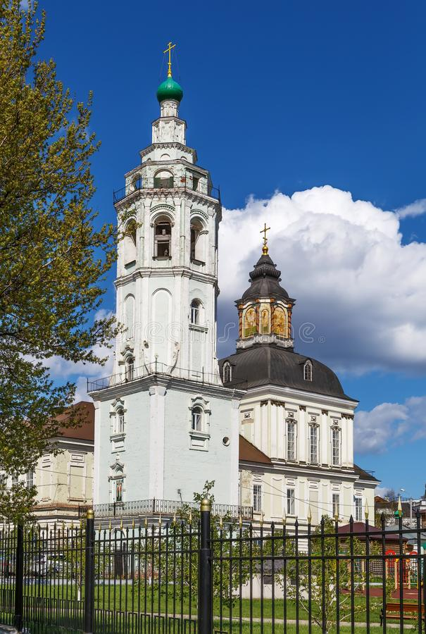 Nicholas kościół, Tula, Rosja obraz royalty free