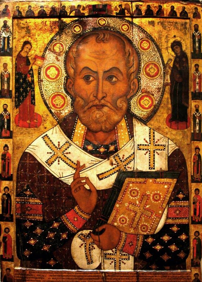 nicholas saint arkivbild